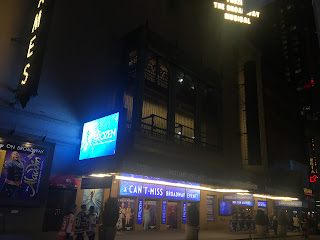 Frozen Broadway Marquee St James Theatre