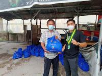 PC SEMMI Kota Medan Membagikan 100 Paket Sembako Kepada Masyarakat, Berkolaborasi dengan Kapolda SUMUT