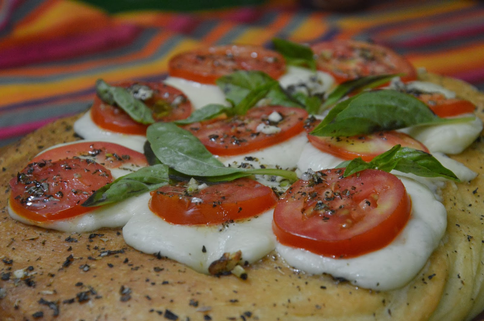 Euphorhea Focaccia Caprese My Grand Entrance Into The We