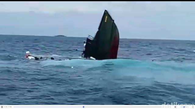 Waduh, Kapal TNI Tenggelam di Kepulauan Seribu