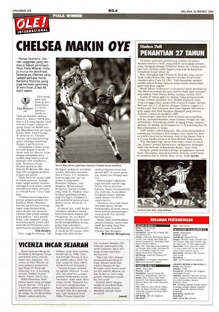 WINNER CUP 1998 CHELSEA
