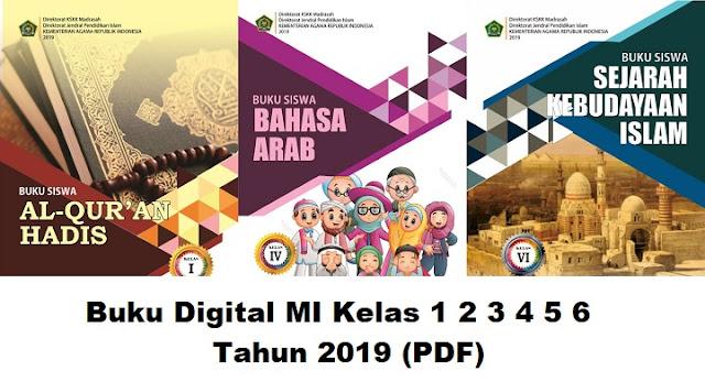 Buku Digital MI Kelas 1 2 3 4 5 6 Tahun 2019