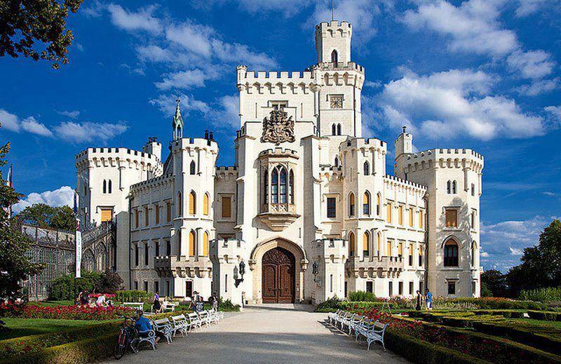nad vltavou castle - photo #7