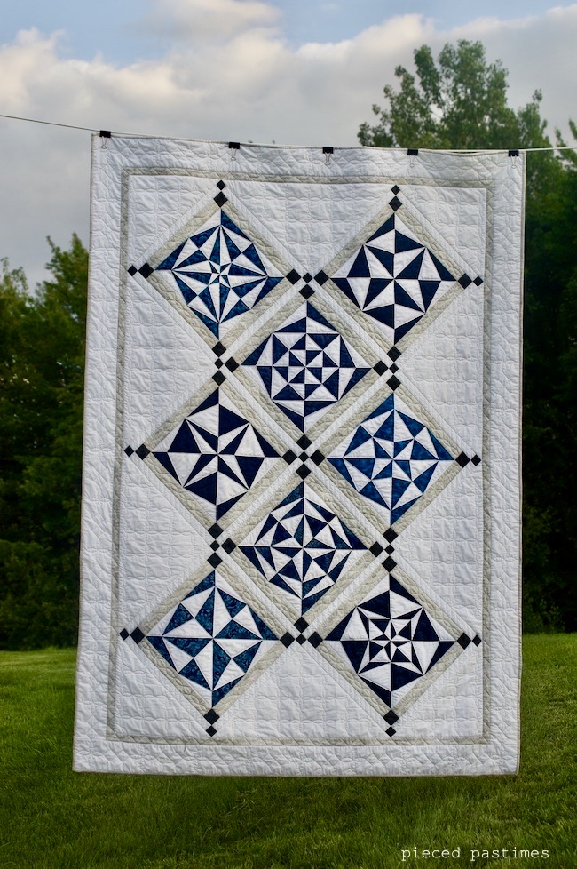 A Modified Mystery Quilt at Pieced Pastimes