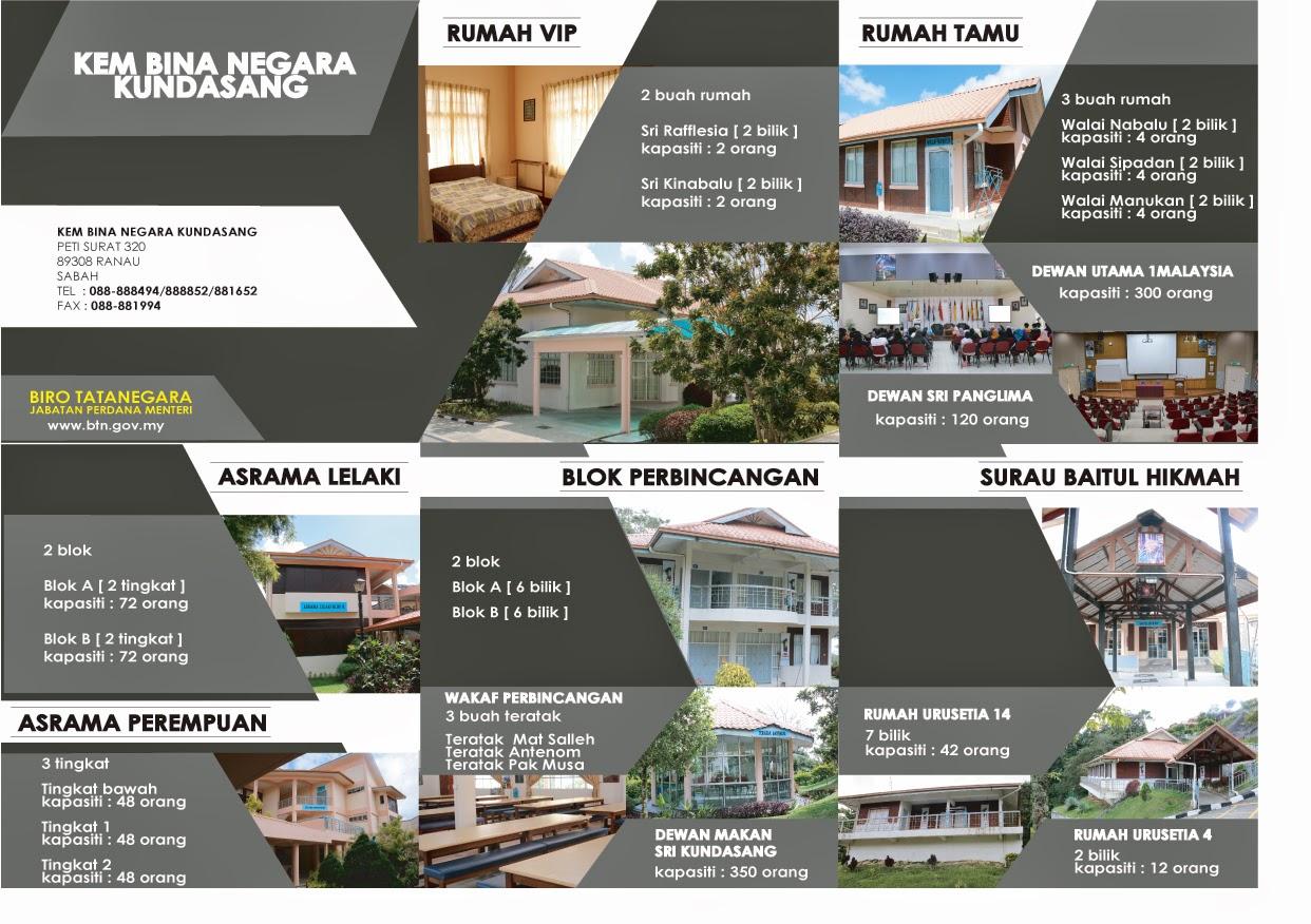Biro Tatanegara, Kem Bina Negara Kundasang Sabah.