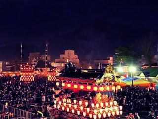 festival kembang api di jepang