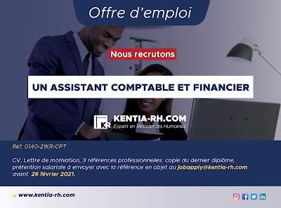 Un assistant comptable et financier