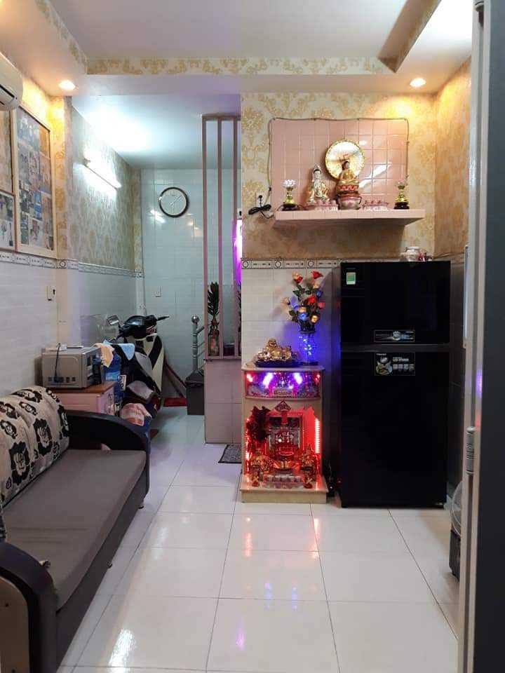 Bán nhà 1 lầu đường Lưu Hữu Phước phường 15 Quận 8 giá rẻ 1 tỷ 400 triệu