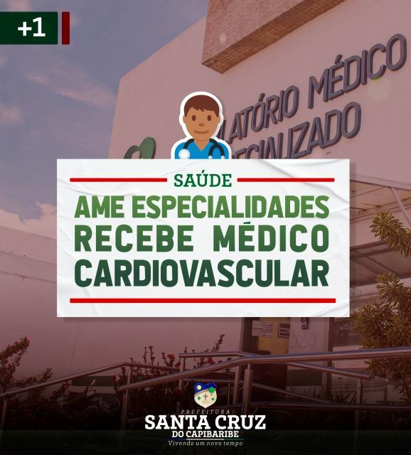 Santa Cruz agora conta com Médico Cardiovascular no AME Especialidades