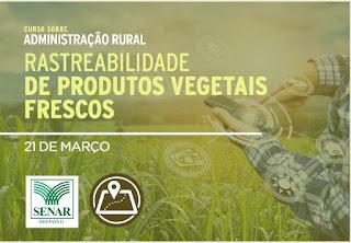 Prefeitura de Cajati realiza curso sobre Administração Rural: Rastreabilidade de produtos vegetais frescos