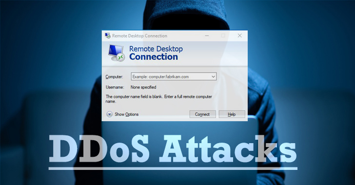 Hackers Can Exploit Windows RDP Servers to Amplify DDoS Attacks