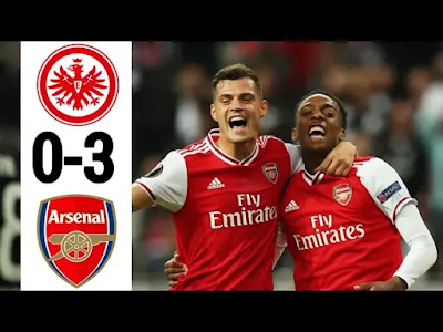 Eintracht Frankfurt Vs Arsenal 0-3 All Goals And Match Highlights [MP4 & HD VIDEO]