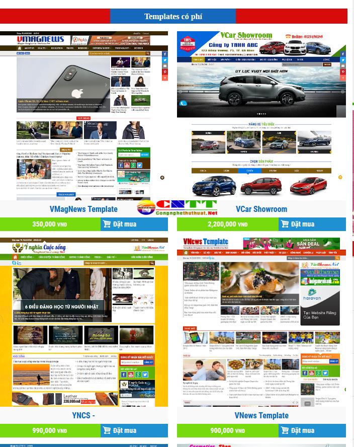 kho giao diện template blogspot chuyên nghiệp