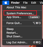System preference in app store