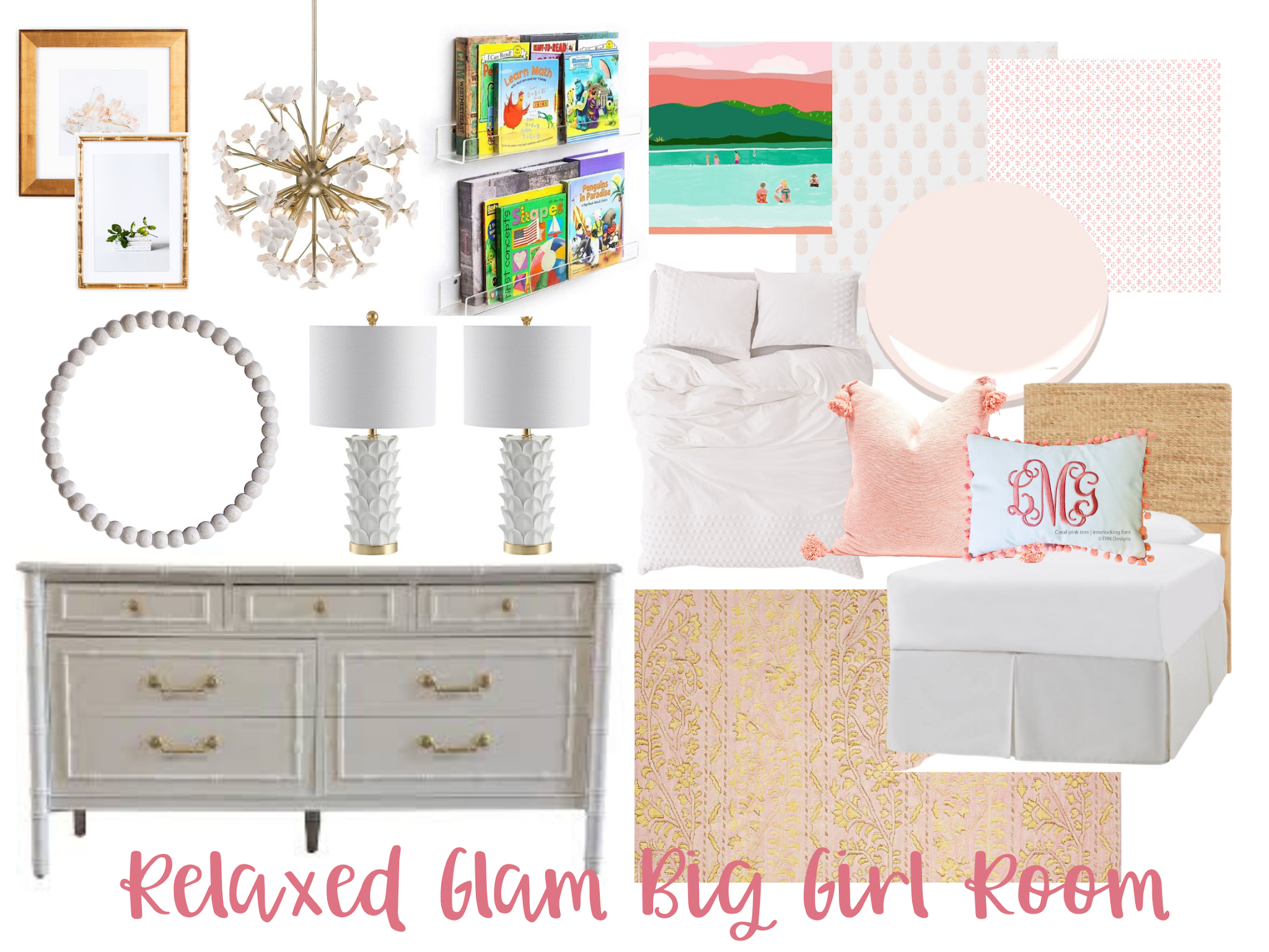 Big Girl Room Design Ideas