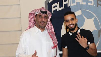 الفحص الطبي يكشف مدة غياب محمد البريك عن الهلال السعودي