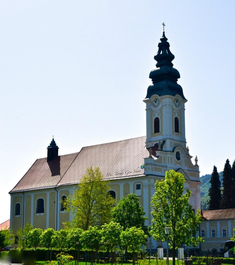 Engelszell Abbey, Austria | Ms. Toody Goo Shoes  #austria #danuberivercruise #engelhartszell