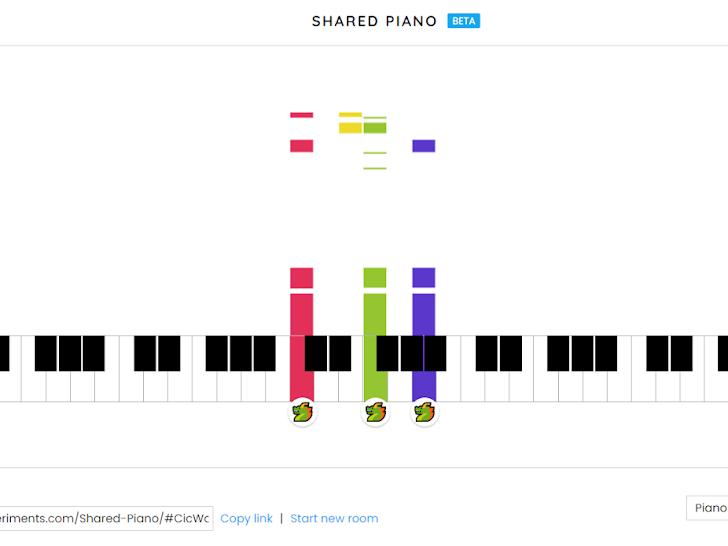 Shared Piano : invitez vos amis à jouer de la musique !