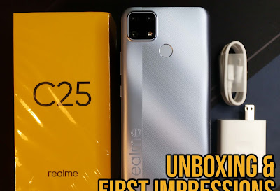 Unboxing the realme C25 & first impressions
