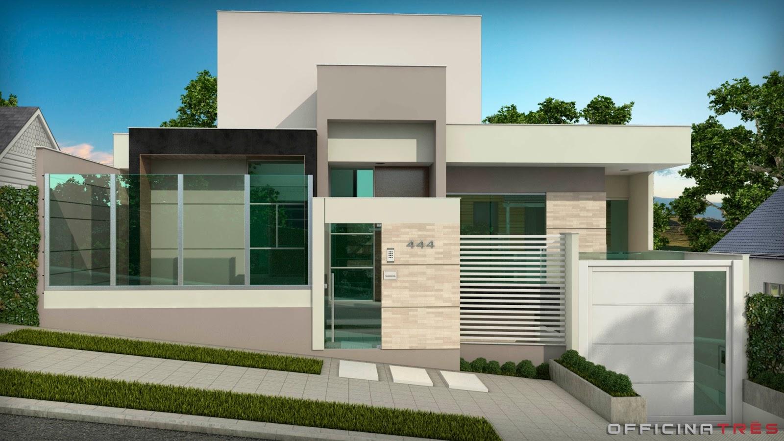 Officinatr s casa no bairro bom jardim manhua u mg for Casa moderna 8