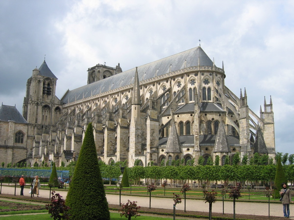 Cathedrale St Etienne Bourges France World Travel