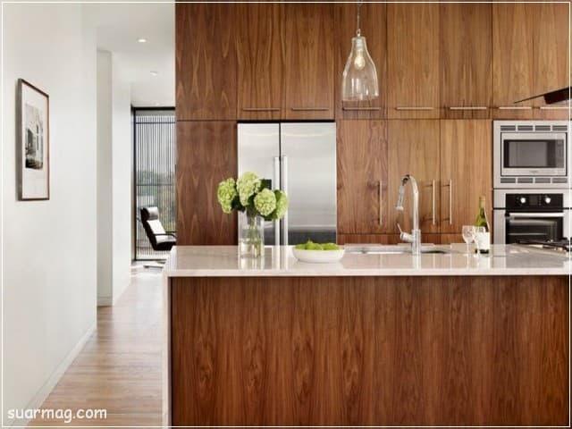 مطابخ خشب 2020 10   Wood Kitchens 2020 10
