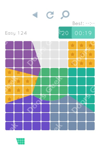 Cheats, Walkthrough for Blocks and Shapes Level 124