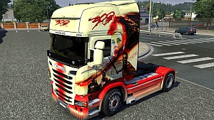 Scania R 300 skin mod