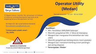 Operator Utility di PT Nippon Indosari Corpindo (Sari Roti)