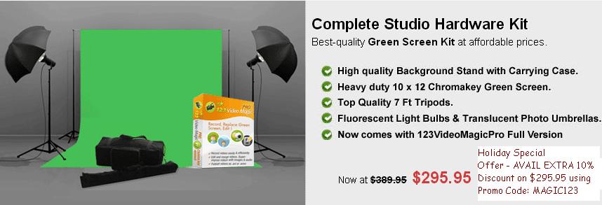 Green Screen Video Studio Hardware Kit: January 2013