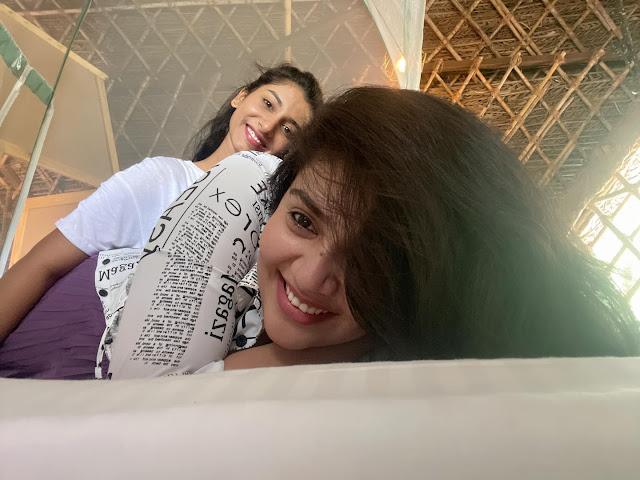 Anchor Sreemukhi Latest Sexy Photo Stills with Vishnu Priya Actress Trend