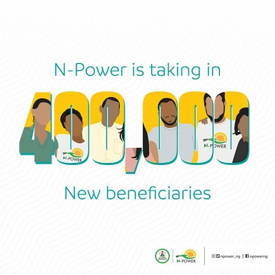 See N-Power 2020 Recruitment Guidelines, Everything You Should Know