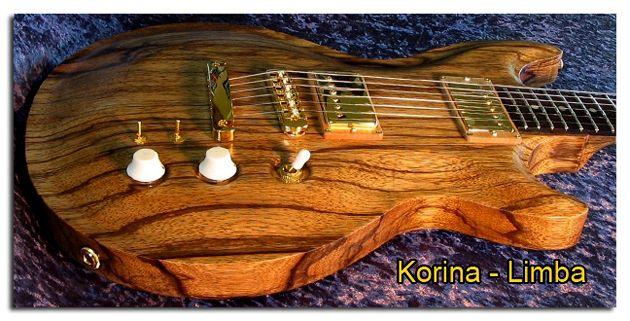Madera de Korina o Limba para Guitarra