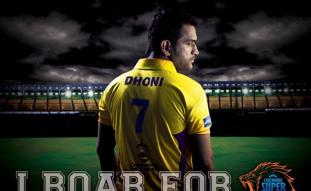 Ms Dhoni Csk Wallpaper Hd: HD WALLPAPERS: IPL 5 2012 CHENNAI SUPER KING WALLPAPERS