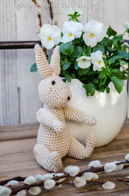 Kaninchen nach Kay Bojesen gehäkelt