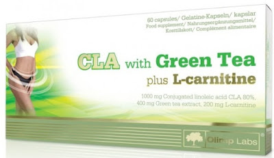 CLA with Green Tea لحرق الدهون