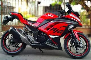Harga Kawasaki Ninja 250 Bekas