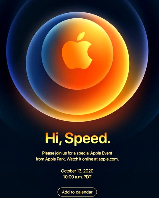 Apple's iPhone 12 event will be held on October 13