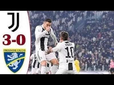 Juventus vs Frosinone 3-0 Football Highlights and Goals 2019