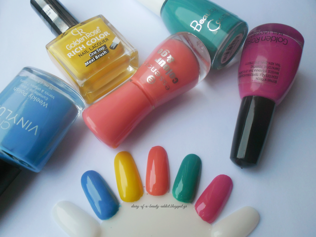 Summer Nail Polish Favorites [2015]