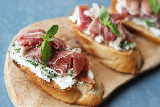 Parma ham recipes UK
