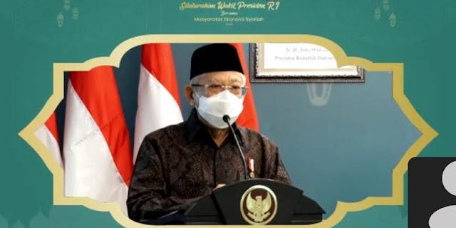 Pesan Maruf Amin: Ekonomi Syariah Bisa Bangkitkan Ekonomi Nasional Asal Gotong Royong