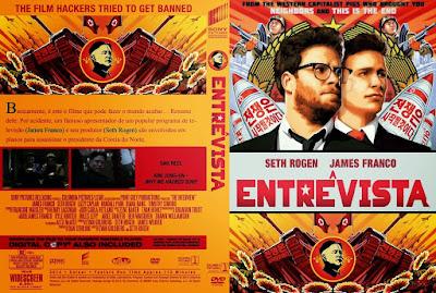 Filme A Entrevista (The Interview) DVD Capa