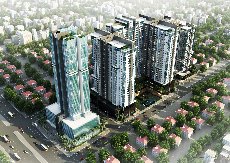 Chung cư Gold Tower 275 Nguyễn Trãi