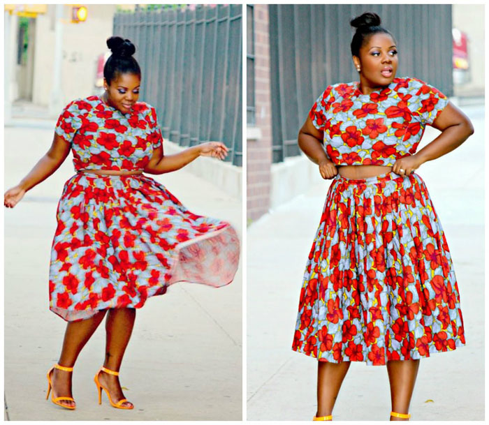 Latest Ankara Pleated skirt styles (5)