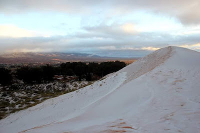 nieve desierto