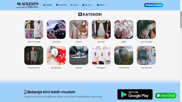 Screenshot Website Toko Online 10