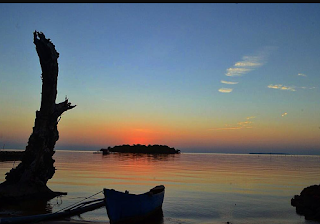 Sunset Pulau Kemujan