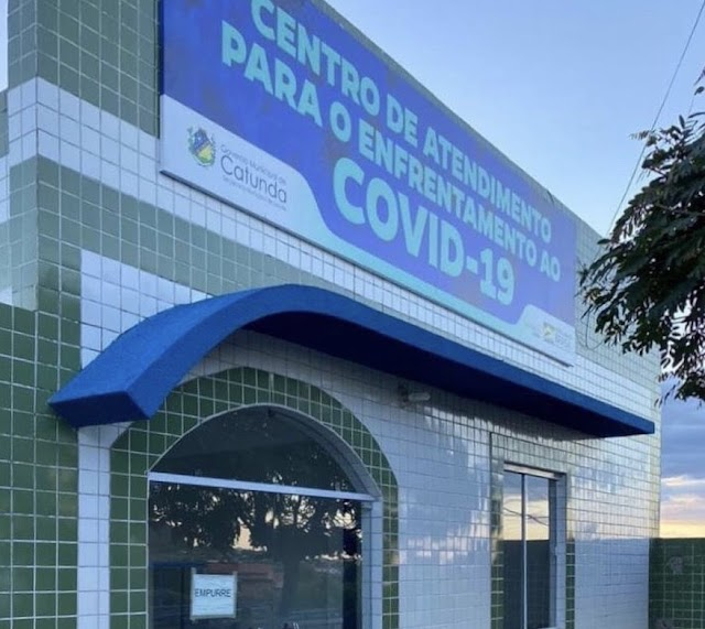 Catunda abre oficialmente Centro de Atendimento para Enfrentamento ao Covid-19