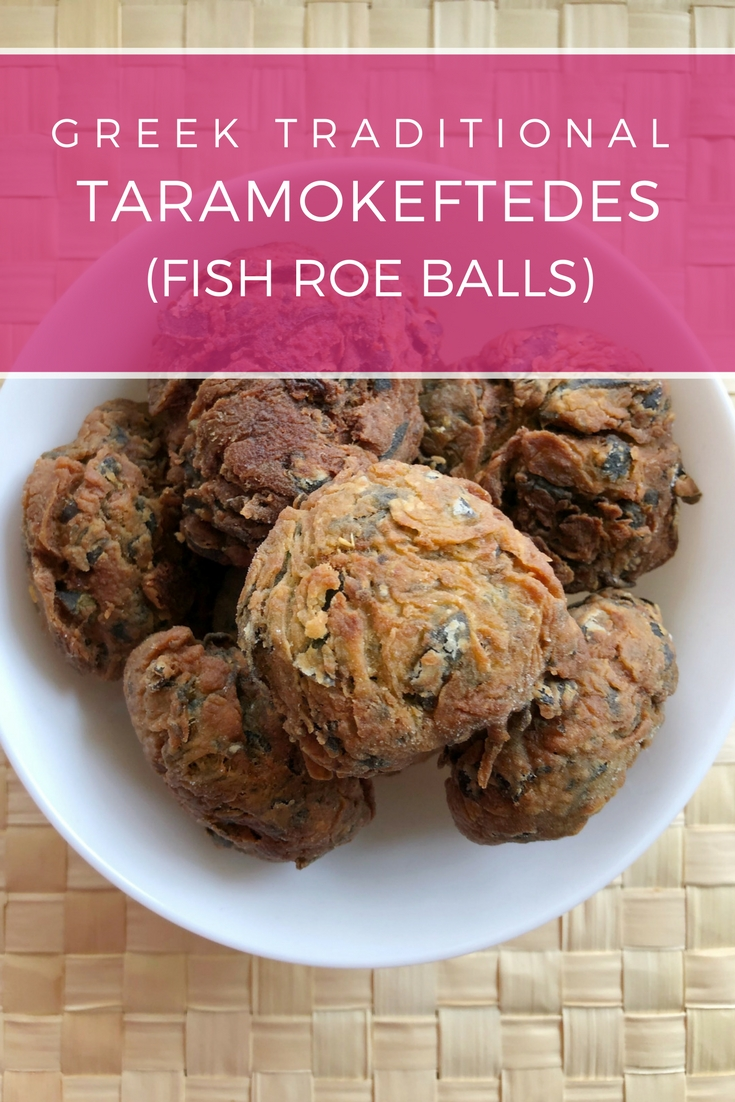 Greek traditional Fish Roe balls (Taramokeftedes) recipe: Delicious, spicy balls perfect appetizer for your wine, beer or ouzo! | Ioanna's Notebook